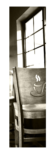 coffee shop chair header